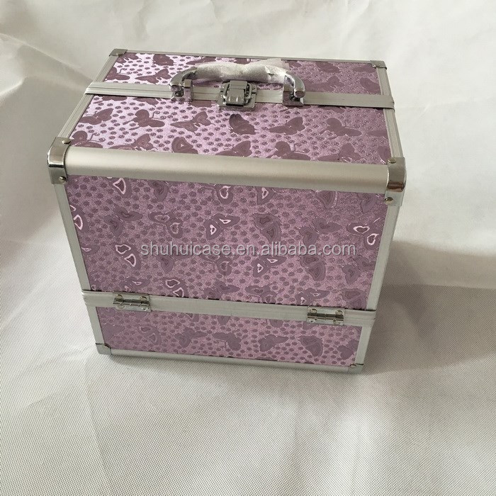 2016 Aluminum alloy jewelry box of butterfly
