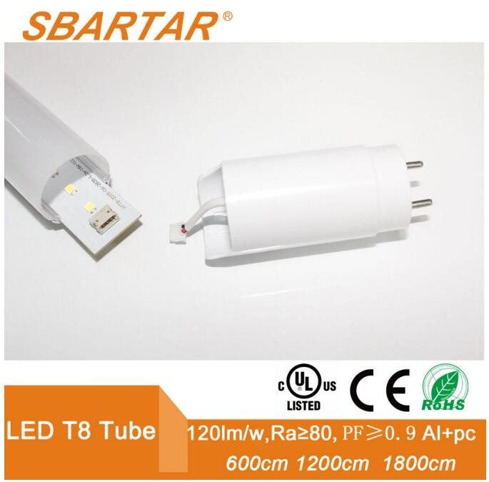 LED Tube light T5 8w 50000hs energy-saving high lumen tub e8 led light tube
