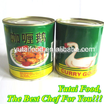 Canned Goose in Red Curry