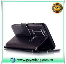 New products wallet stand case for Samsung galaxy s4 mini pu leather flip back cover case with card holder