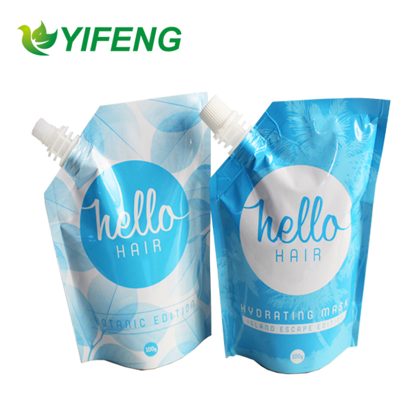 New Plastic Spout Bag with Top Spout (logo,color,shape all can make)
