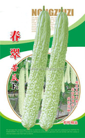 Chinese vegetable seeds Hybrid bitter melon seeds Bitter gourd seeds for growing-Spring cui F1