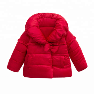 2018 hot selling kids outer wear girls hooded coat baby girl jacket