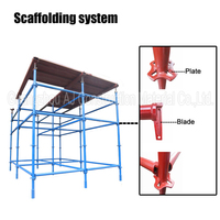 Africa type Quick Lock Scaffolding for Nigeria market made in Guangzhou, China