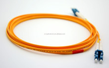 Communication Equipment LC to LC Duplex Fiber Optic Patch Cord