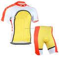 New arrival men lycra cycling wear short sleeve custom cycling suit
