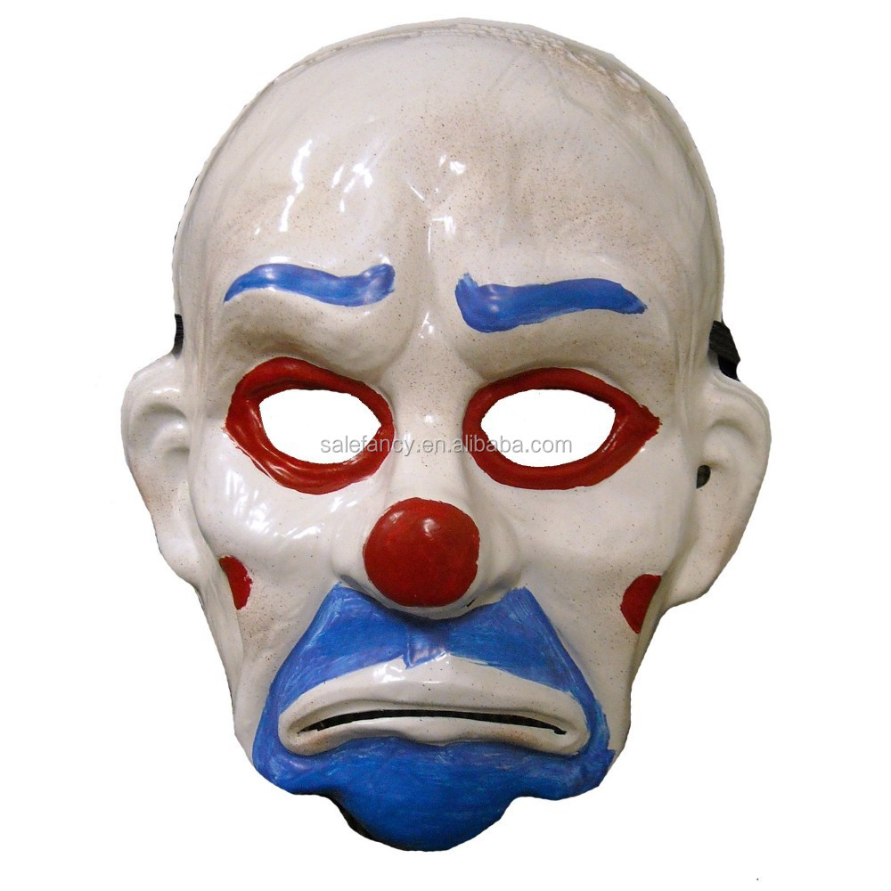 New Custom Batman joker clown mask scary clown mask QMAK-2061