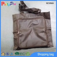 Promotional Brown Color Foldable Non Woven Shopping Bag Non Woven Bag