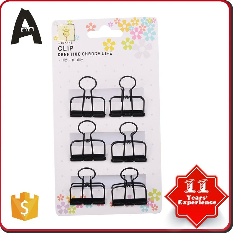 Excellent factory directly colorful bulldog clips