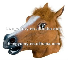 Eco-friendly Realistic Full Head Halloween Mask Latex horse Mask for Party