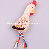 New Design Plush Chicken Rope Legs Sex Dog Toy