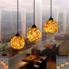 Modern style glass hanging lamps for dinning room