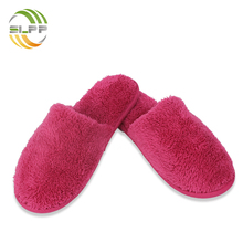 Pink color PVC anti-slip sole mop slippers for women