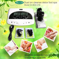 ionic foot detox spa with FIR Belt and Big LCD Screen/Dual-system Detox Foot Spa for 2 persons