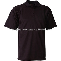 OEM Plain polo shirt, Custom polo shirt with custom embroidery, men black polo shirt