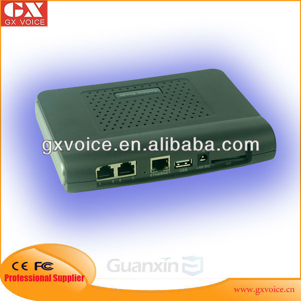 8 Channel Standalone Telephone Voice Logger Supporting SD Card