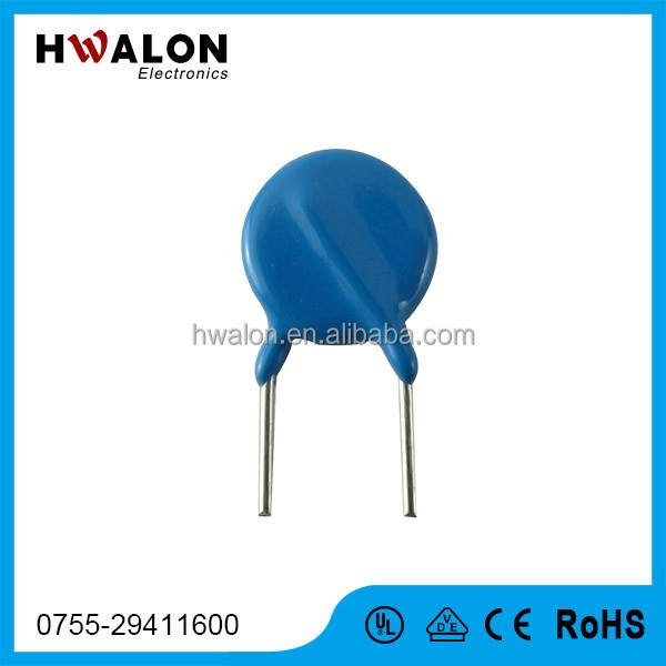 Metal Oxide Varistor MOV Varistor 25mm for semiconductor device protecting