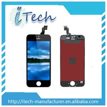 Mobil phone accessory big sale mobile phone lcd for iphone 5s