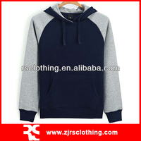 Mens Cotton Pullover Plain Hoodie Promotional Hooded Sweatshirt