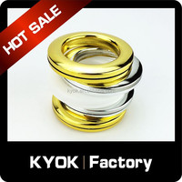 KYOK Hotel project decoration curtain ring ,iron rings ,plastic curtain ring plastic curtain eyelets