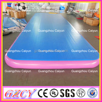 Airtight Inflatable Gym Mattress DWF Material