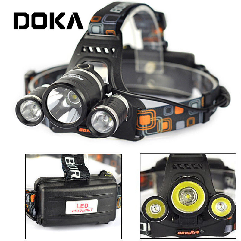 Salable LED Head light 3 Watt Q5 Aluminum Rechargeable Headlamp