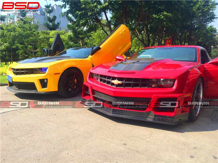 Body Kit For 10-14 Chevrolet Camaro DP Wide Style Auto Parts Bumper