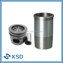 European truck engine parts piston and cylinder liner kit
