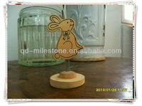 Lovely Rabbit Pine Decoration mini paper clip