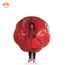 PVC 1.5m Human Sized Soccer Bubble Ball / Football Inflatable Body Zorb Ball for Adult