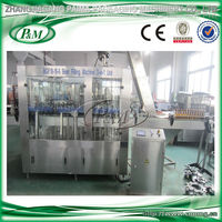 BGF glass bottle beer filling machine (washing, filling and capping 3 in 1 unit)
