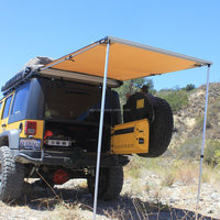 Retractable Aluminum Floding Caravan RV 4wd Car Side Awning/sun shade for camping