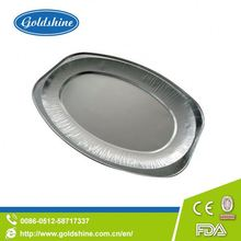 Goldshine Hot selling trendy oval roasters foil tray