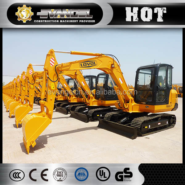 6 Ton Foton Lovol mini excavator price FR60 for sale