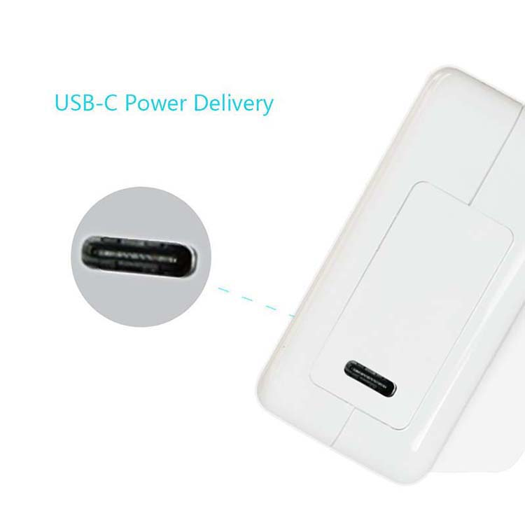 USB-C Charger with Power Delivery 30W Type USB C Wall Charger for MacBook / Pro, Nintendo Switch, for iPhone X / 8 / P