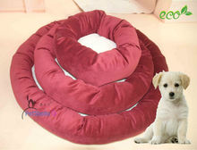 Cute pet product round pet bed dog bed