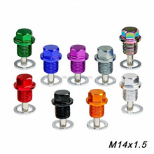 M14*P1.5MM Engine Dress Up Magnetic Oil Drain Plug Package /Oil Sump drain plug For Most Honda Acura/Mitsubishi/Ford/GM