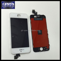 AAA quality cheap price replacement touch screen assembly for iphone 5 lcd with digitizer