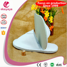 Pure white terry towel disposable slipper