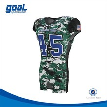 2016 Fashion customized sublimation American football jerseys uniforms