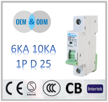 miniature circuit breaker D25