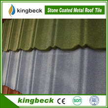 Eaves tile type and color steel plated material green glazed roof tiles
