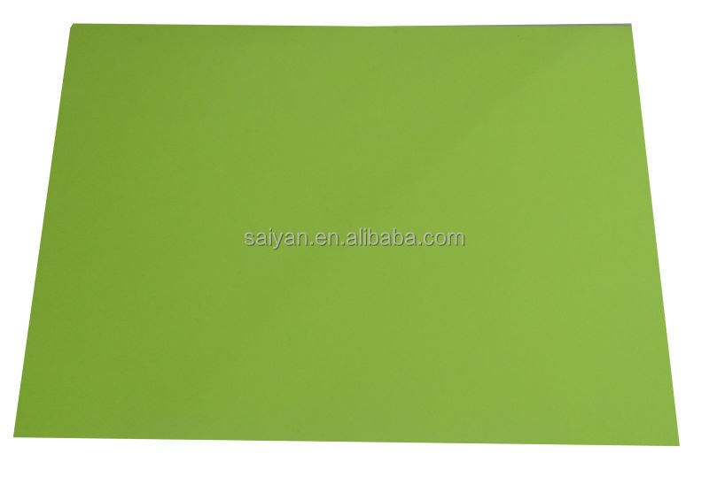 waterproof color paper A4 260gsm inkjet fluorescent appple green paper name paper