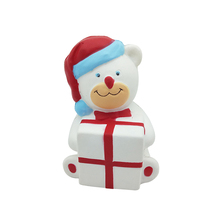 Soft PU Cute high quality squishy slow rising Santa Claus crazy Christmas toys for kids
