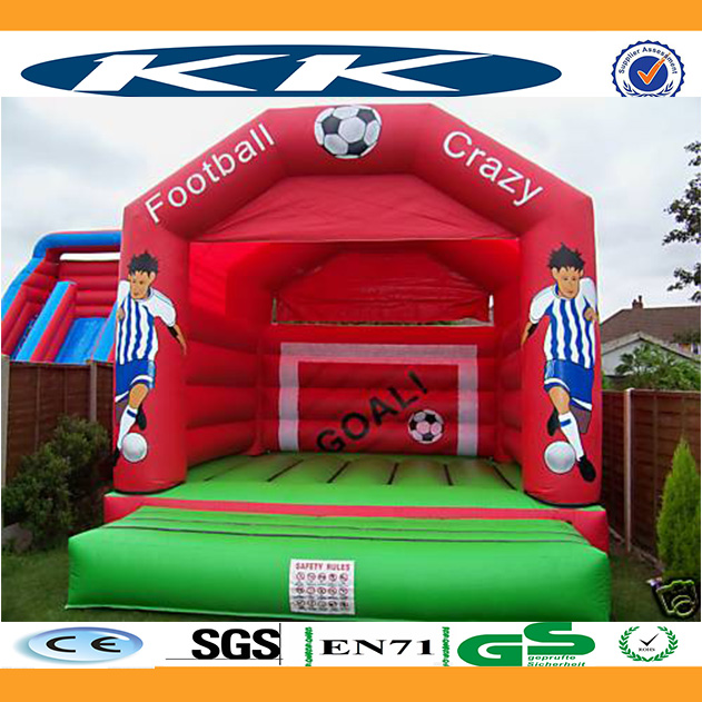 Factory price inflatabe football/basketball sport arena games bouncer hounse, inflatable bouncer
