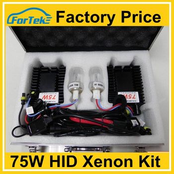 75w hid lights car xenon kit Factory direct supplier
