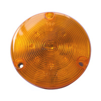 "HOT SALE SAE 3"" ROUND AMBER LED WARNING LIGHT (20-3280)"