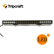 One row 120w led work lights for truck off jeep excavator motorcycle