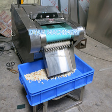 Automatical bread crouton cutting machine