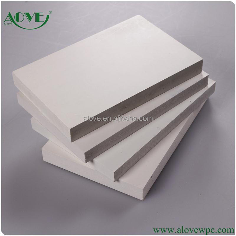 Pvc Sheets Product: Pvc Plastic Foam Sheet For Wardrobe Funiture Made In China